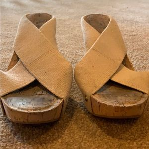 Lucky Tan Platform Sandal